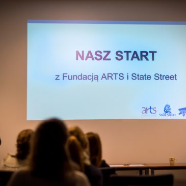 Nasz Start z Fundacją ARTS i State Street