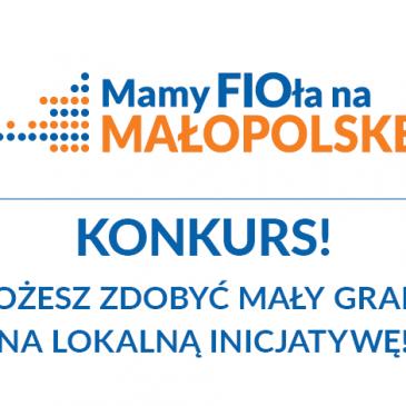 FIO Małopolska Lokalnie Południe – możesz zdobyć mały grant na lokalną inicjatywę!
