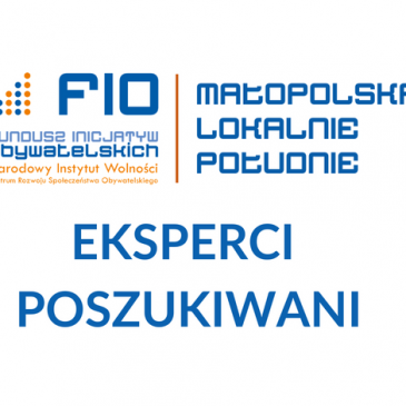 Fundacja ARTS poszukuje ekspertów do oceny wniosków w ramach projektu pt. FIO Małopolska Lokalnie – Południe