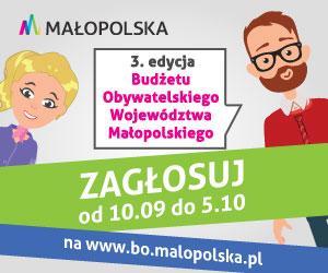 150 zadań w 3. edycji BO Małopolska