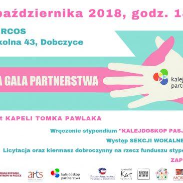 Gala Kalejdoskopu Partnerstw i Fundusz Stypendialny