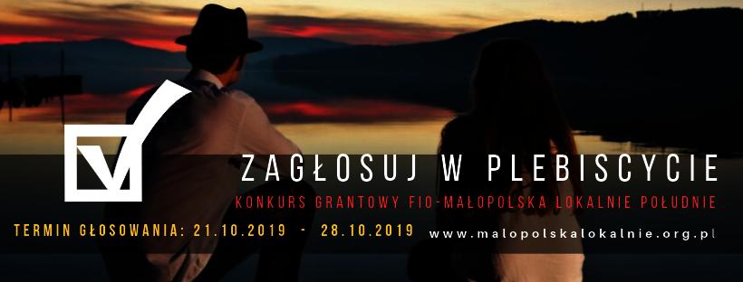 Plebiscyt  FIO Małopolska Lokalnie Południe!